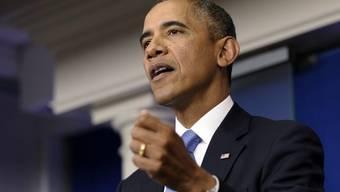 Präsident Barack Obama versucht den Haushaltsstreit beizulegen