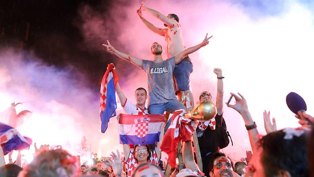 Kroatien wünscht sich derweil nach dem Erreichen des WM-Finals 2018 ein nächstes Fussball-Märchen