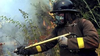 Die chilenischen Feuerwehren kämpfen weiter gegen die Brände