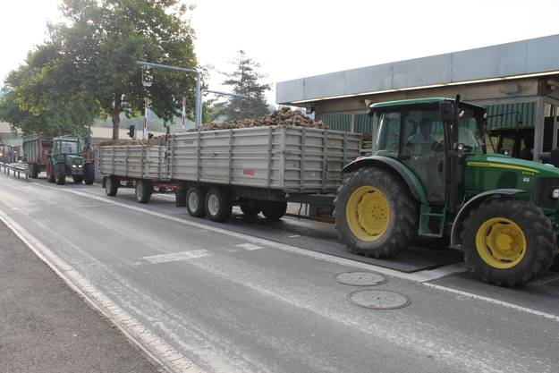 2. Anlieferung auf der Strasse