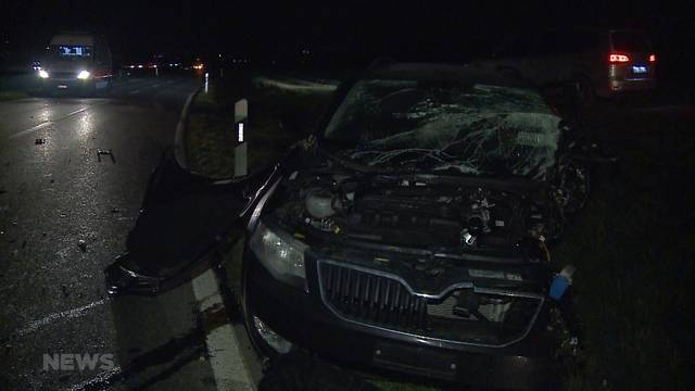 Schwerer Unfall: Augenzeuge fährt davon