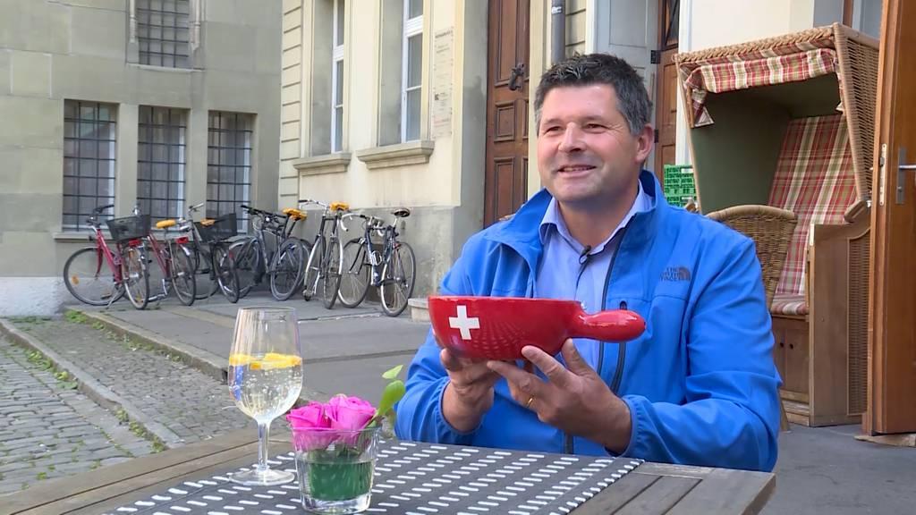 Portrait: Hans Jörg Rüegsegger