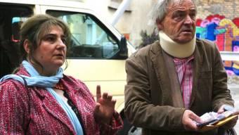 """Ueli Bichsel mit Silvana Gargiulo in """"Liebe & Zufall"""" (Pressebild)"""