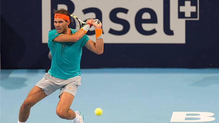 Teurer Name: Rafael Nadal am Turnier im vergangenen Jahr.