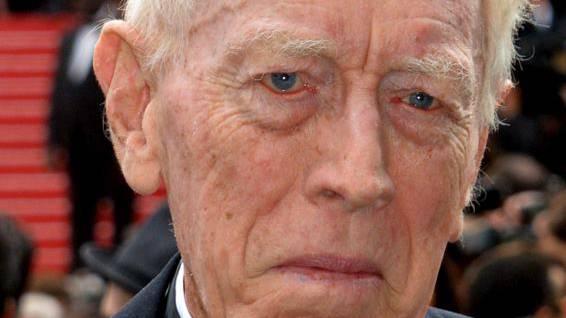 Schwedische Schauspiellegende Max von Sydow ist tot