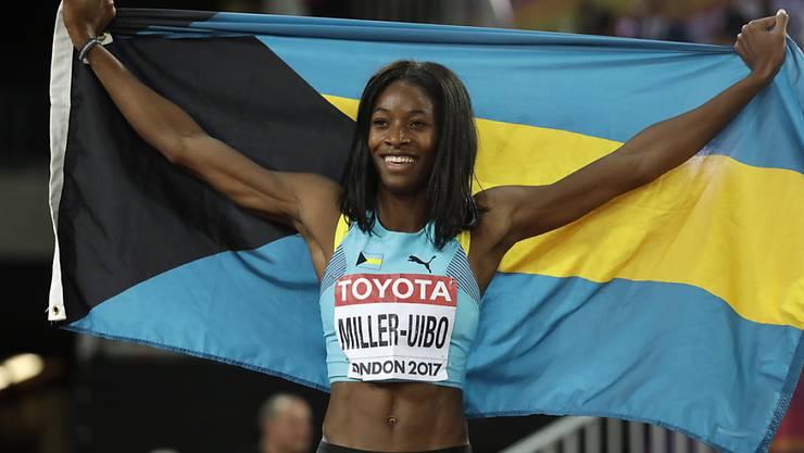 Sieg im Letzigrund über 200 m: Shaunae Miller-Uibo
