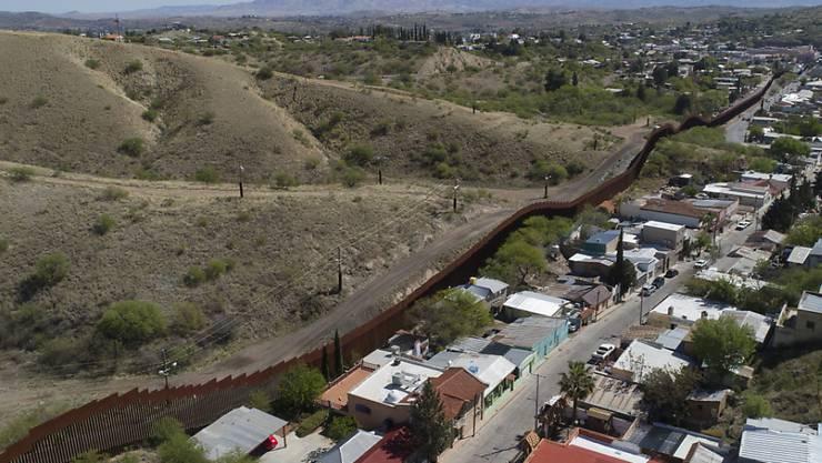 An der Grenze zwischen den USA und Mexiko gab es im vergangenen Jahr 412 Tote, nach 398 im Jahr davor. (Archiv)