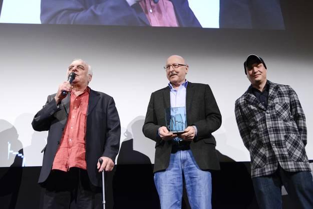 Prix Publique Paul Riniker mit Ruedi Santschi und Michael Imboden.