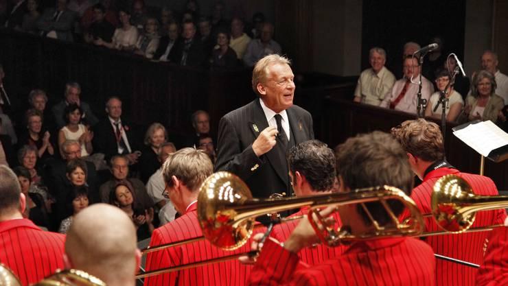 Pepe Lienhard (hier mit der Swiss Army Big Band) und das Veteranenspiel Kanton Solothurn geben zwei Konzerte in Trimbach.