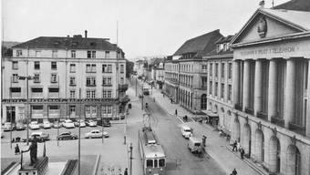 Historische Ansichten vom Hotel Aarauerhof