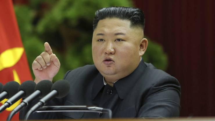 Will sich nicht mehr an das Moratorium für Atomversuche halten: Nordkoreas Machthaber Kim Jong Un. (Archivbild)