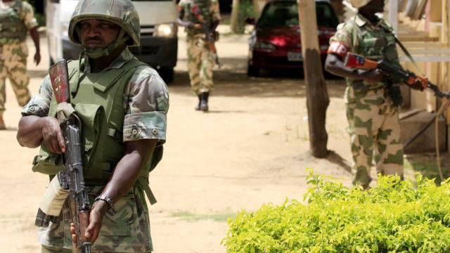 Soldaten in Maiduguri (Archiv)