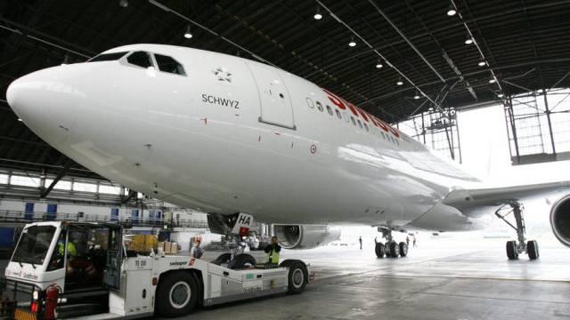 Ein Airbus A330-300 der Swiss (Archiv)