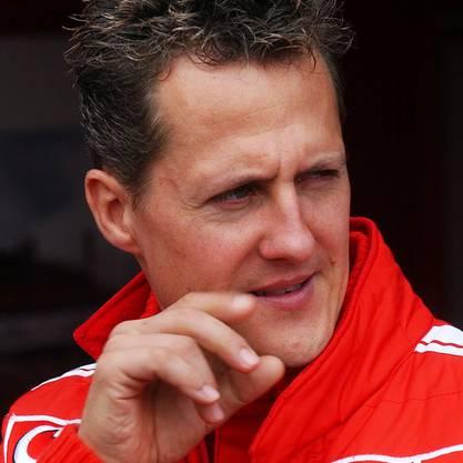Ihn hat Jean Todt besucht: Rennfahrer Michael Schumacher