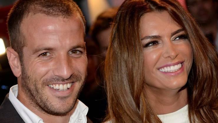 Getrennt oder noch ein Paar? Rafael van der Vaart und Sabia Boulahrouz haben sich bisher nicht zu den Trennungsgerüchten geäussert (Archiv)