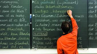 Michael Hegnauer, Lehrer in Untersiggenthal, bei einem Medientermin zu «Integrative Schule live!» im September 2016.