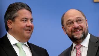 Sigmar Gabriel und Martin Schulz. (Archiv)