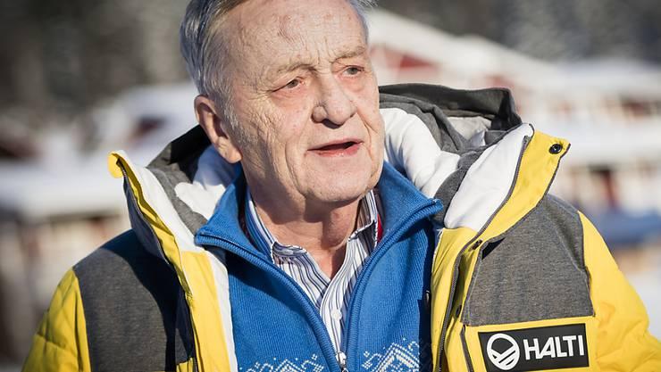 War bei der FIS ab 1975 Generalsekretär und ab 1998 Präsident: der Bündner Gian Franco Kasper