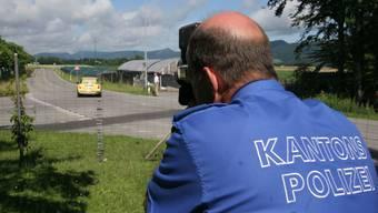 Der Personenwagen wurde von dem Lasermessgerät mit 114km/h statt  80km/h erfasst worden.