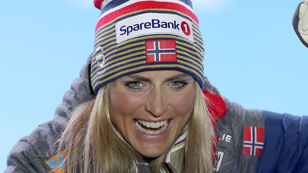 Die Langläuferin Therese Johaug könnte die Weltmeisterschaften in Seefeld mit vier Goldmedaillen im Gepäck verlassen