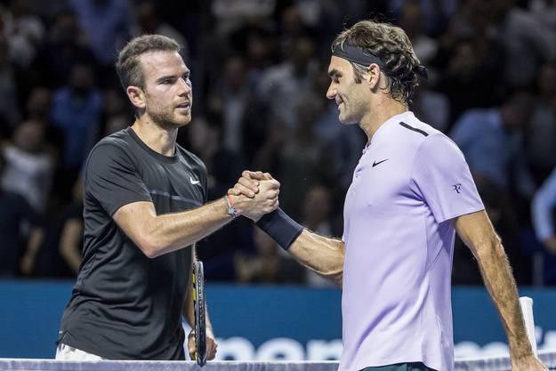 Adrian Mannarino (ATP 32): Spielte schon viermal in Basel. 2017 kam er bis in den Viertelfinal, wo er gegen Roger Federer in drei Sätzen den Kürzeren zog.