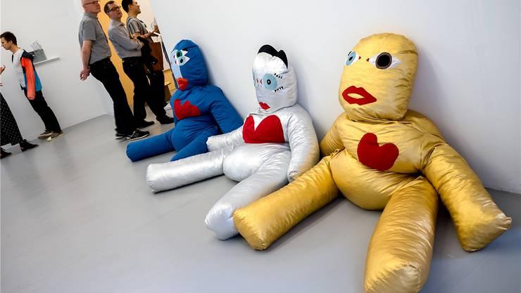 Die Puppen von Dardan Zhegrova sind bereits etwas kunstmüde