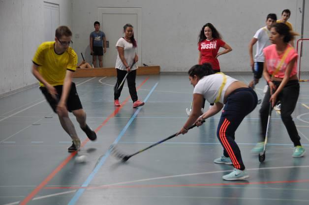 Unihockey mixed