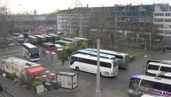 Der Carparkplatz beim Hauptbahnhof ist eine der letzten Bauland-Reserven Zürichs. Mts
