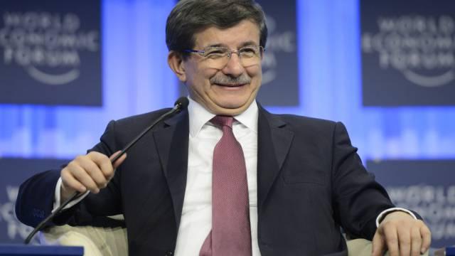 Davutoglu, hier am WEF 2014, könnte Erdogans Nachfolger werden