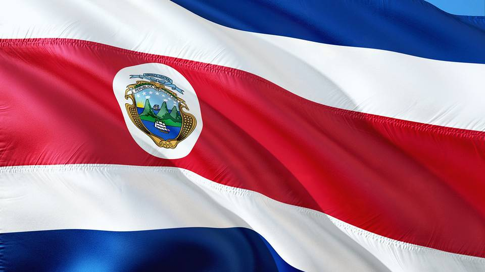 Nationalfahne Costa Rica