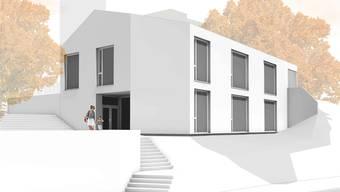 So soll der neue Zeiher Kindergarten dereinst aussehen. Visualisierung zvg