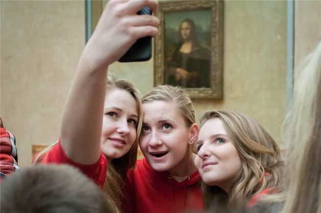 Selfie-Hype vor «Mona Lisa»