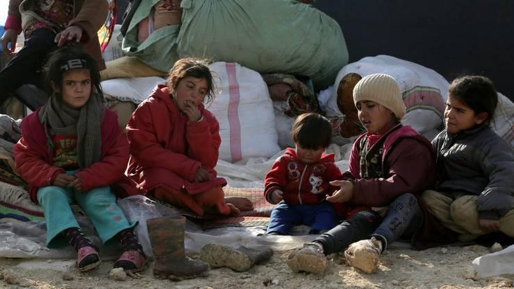 In der bitterarmen Provinz Idlib sind bereits 1,2 Millionen Menschen aus anderen Teilen Syriens untergebracht.