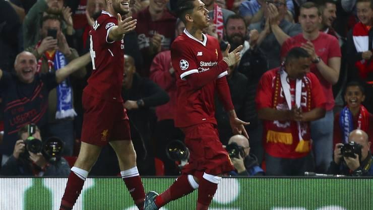 Jubelstimmung an der Anfield Road: Liverpool qualifizierte sich souverän für die Champions League