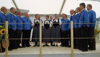 Als Gastformation sorgte das Schützenchörli Kirchberg BE am Sonntagnachmittag für einen Teil der Unterhaltung.