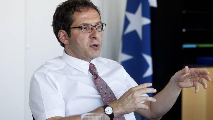 Hofmann will «eine möglichst schlagkräftige Organisation für die Standortförderung». (ala)