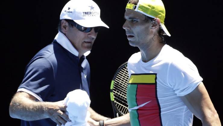 Langjährige Gefährten: Onkel Toni Nadal begleitete Rafael Nadals Karriere seit dessen viertem Lebensjahr
