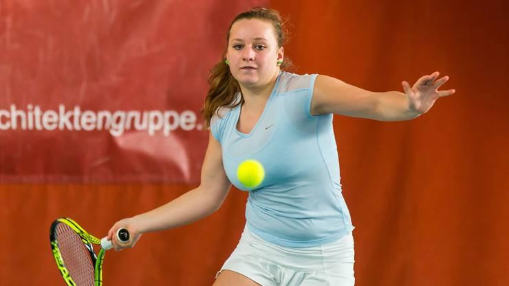 Die 16-jährige Arlinda Rushiti aus Trimbach feilt in Mailand seit anderthalb Jahren an ihrer Tenniskarriere: «Ich will wissen, wie weit ich es bringen kann.»