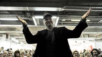 Catalin Dorian Florescu, Buchpreis-Träger 2011, konnte noch ein grosses Preisgeld mitnehmen.