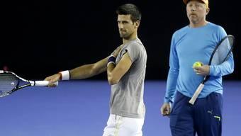 Novak Djokovic und Boris Becker gehen getrennte Wege