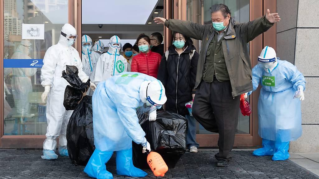China meldet erstmals keine inländischen Neuinfektionen