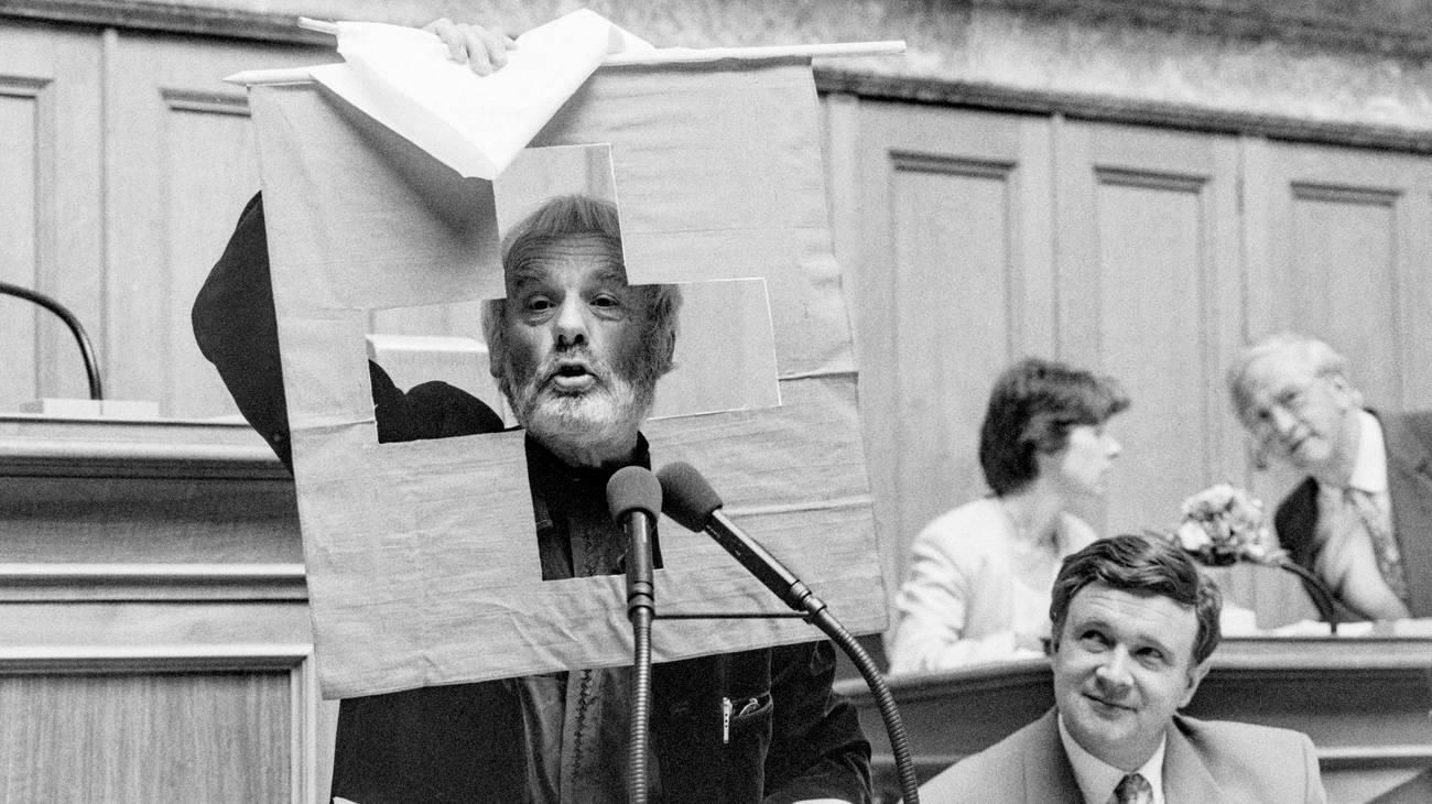 Pfarrer Ernst Sieber (© Keystone)