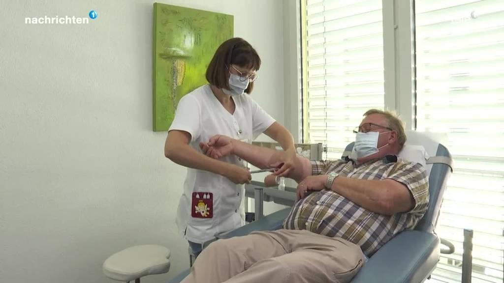 Blutspendedienst Zentralschweiz hat kaum noch Reserven