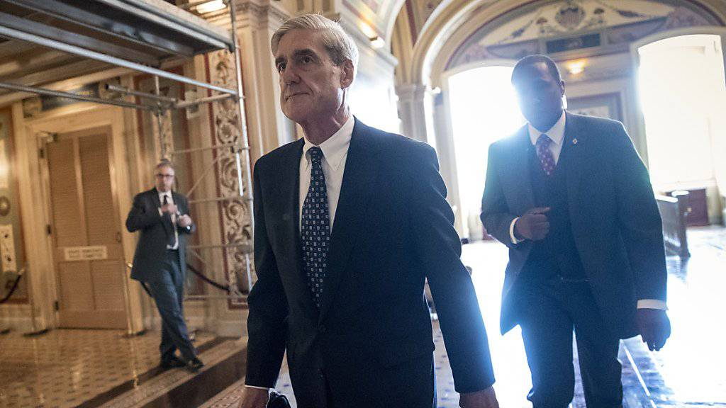 Der frühere FBI-Chef Robert Mueller untersucht, ob Angehörige von Trumps Wahlkampfteam in die Beeinflussung des US-Wahlkampfs durch Russland verwickelt sind. (Archivbild)