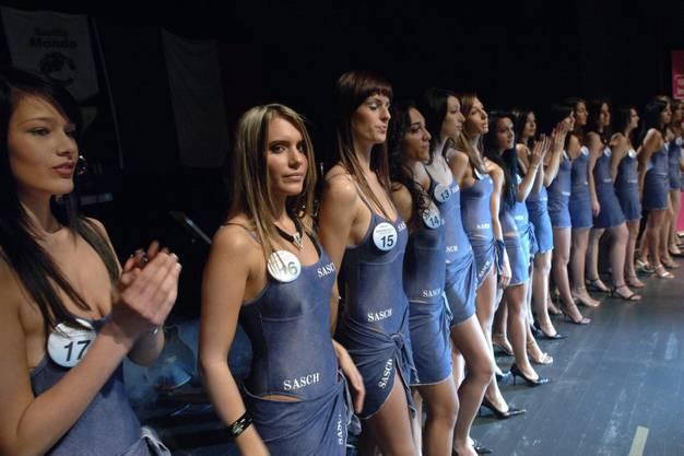 2006: Das 3. Orangenfest im Parktheater Grenchen. Misswahl zur Miss Riviera dei limoni