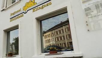 Die Regionalbibliothek befindet sich im Städchen in Klingnau.