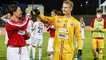 Fussball, Schweizer Cup, 2. Runde: FC Aarau - FC Wil (12.9.20)