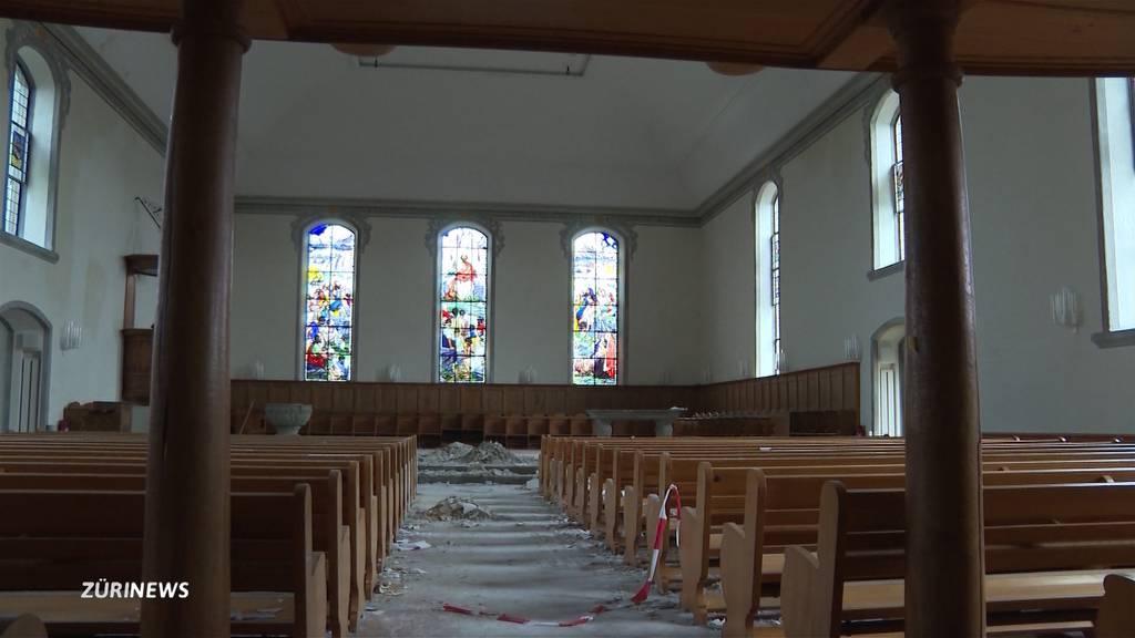 Kirchenbrand Herzogenbuchsee: Blick ins Innere