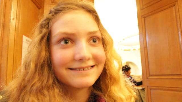 So erlebte die 13-jährige Sabrina Brunner aus Balsthal den Jugendpolittag.