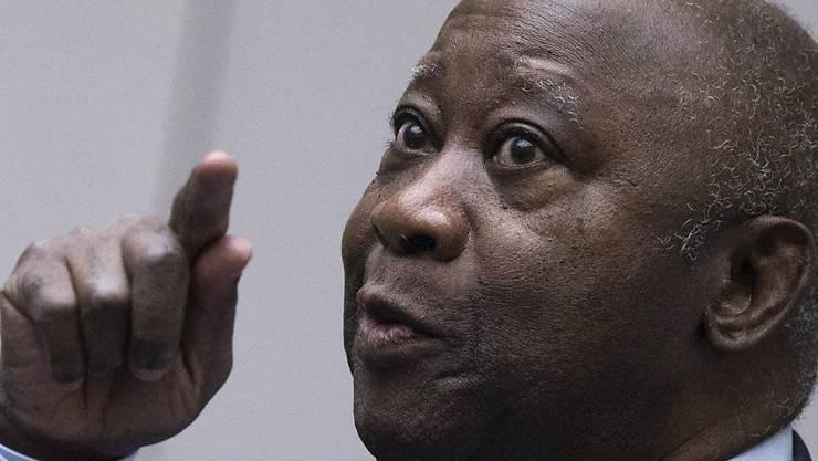 Der internationale Strafgerichtshof hat die Haftentlassung des ehemaligen Präsidenten der Elfenbeinküste, Laurent Gbagbo, angeordnet. (Archiv)
